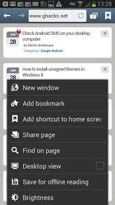 Android Home How To Pin Websites To The Android Home Screen Ghacks Tech News