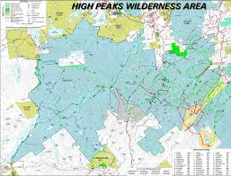 Cascade Mountains Map Adirondack High Peaks Trail Status