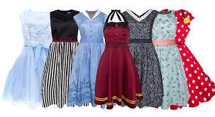 dresses shop disney parks retro dress shop styles are now available online