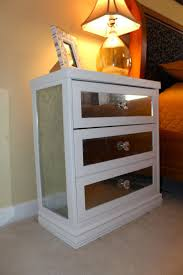Mirrored Night Stands Mirrored Glass Nightstand U2013 Interior Design