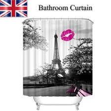 auãÿenleuchten design 3d waterproof tower style shower curtain home bathroom