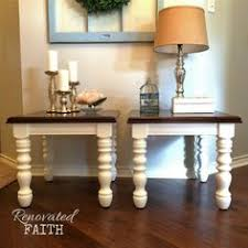 Refinishing A Kitchen Table by Refinished Dining Table Tutorial Stained And Painted White For A