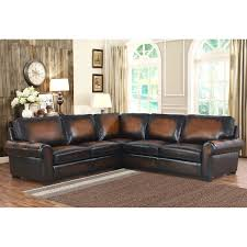 brown living room set casey top grain leather sectional living room set