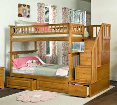 bedroom chic bunk beds with stairs and drawers on wooden floor interesting bunk beds with stairs for teen or kid bedroom decor ideas chic bunk beds