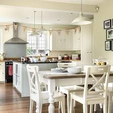 kitchen diner lighting ideas family kitchen design ideas family kitchen diners and kitchen