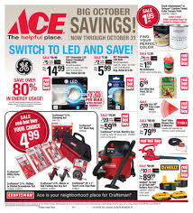 ace hardware buys for october 2015