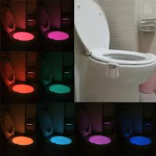toilet light 8 colors led motion sensor toilet seat night light u2013 berry stock