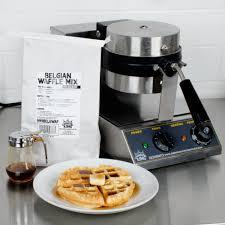 carnival king wbm13 non stick belgian waffle maker with timer 120v
