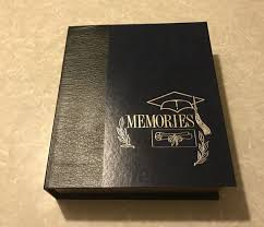 graduation memory box new high school graduation senior picture album memory box set