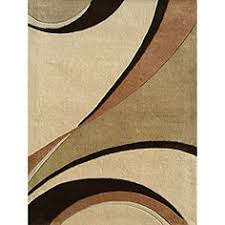 Green And Brown Area Rugs Swirling Colorblocked Sections In Hues Of And Green