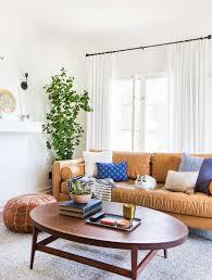 sara s living room reveal emily henderson emily henderson sara moto neutral cozy masculine living room 2