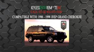 1995 jeep battery how to replace jeep grand key fob battery 1996 1998
