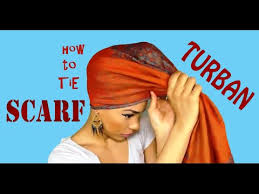 video tutorial turban style how to tie a scarf on your head casual and formal styles youtube