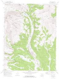 Colorado 14er Map by Mt Democrat Mt Cameron Mt Lincoln Mt Bross