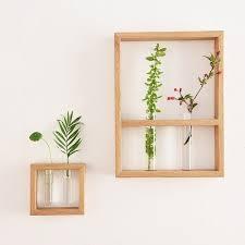 Test Tube Flower Vases Test Tube Vases With Wood Frame Apollobox