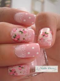 White Pink Nail 50 Lovely Pink And White Nail Designs