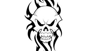 tribal and skull designs 40 tribal skull tattoos ideas