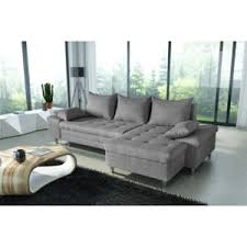 canapé angle droit en tissu savanah noir et pvc viper dya bestmobilier san diego gris canapé d angle droit achat vente