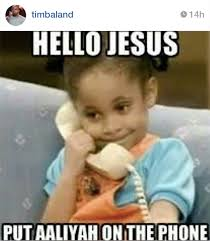 Baby On The Phone Meme - review lifetime s aaliyah the princess of r b wait wait