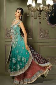 latest bridal sharara designs 2015 for wedding shein pk