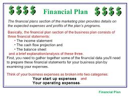 sample financial plan financial planthe financial plans the