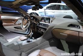 bmw 6 series interior and more photos of the bmw 6 series coupe concept