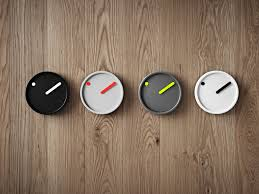Scandinavian Wall Clock Picto Graphic Wall Clock A Visual Whisper