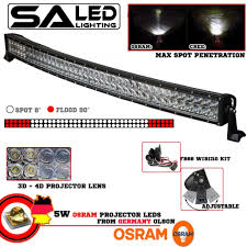 4x4 Led Light Bars by Curved 41 5 Inch 400w Osram Led Work Light Bar 36000lm U2013 Sa Led