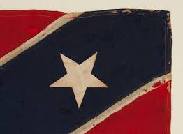 Garrison Flag Size Jeff Bridgman Antique Flags And Painted Furniture Confederate