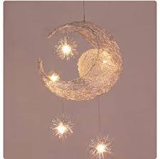 luminaire chambre d enfant nilight plafonnier pour chambre d enfant en forme de lune et d
