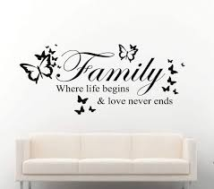 celebrate life with life quote wall decals by eydecals family where life begins butterflies wall decal sticker