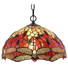 Dragonfly Light Fixture Style Dragonfly Hanging L Free Shipping Today