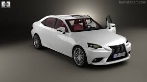 lexus is executive 360 view of lexus is xe30 with hq interior 2013 3d model hum3d