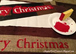 anyone can decorate diy burlap christmas garland tree wrap