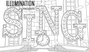 sing movie coloring pages getcoloringpages