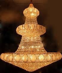 Chandelie Golden Hang Chandelier