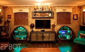 wallpapers for rooms accessories terrific steampunk interior design style and