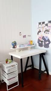 Diy Kid Desk Diy Ikea Hack Children S Lack Desk And Standing Office Desk