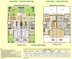 row house floor plan row house floor plan dsk meghmalhar phase 2 1 bhk 2 b flickr