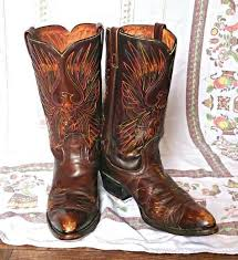 womens vintage cowboy boots size 9 womens boots vintage cowboy boots 1974 size 9 1 2 embroidered