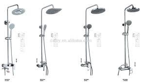 Bath Shower Mixer Set Led Shower Heads Set Shower Mixer Waterfall Shower Shampoing