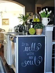kitchen chalkboard wall ideas chalkboard for kitchen how to paint a kitchen chalkboard wall
