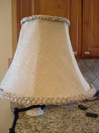 home lighting design tutorial lighting table lamp using drum burlap lamp shade for home