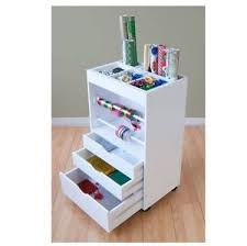 gift wrapping cart new gift wrapping cart craft scrapbook storage organizer station