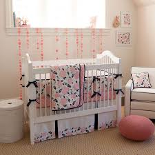 Small Baby Beds Lovable Coral Baby Bedding With Fresh And Cheerful Look Beds
