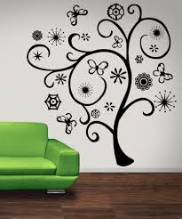 colour dot tree abstract wall stickers art mural kids nursery swirl designs stickerbrand wall art decals graphics and