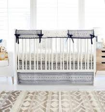 Where The Wild Things Are Crib Bedding by Navy Boy Aztec Crib Bedding Wander In Blue Crib Collection