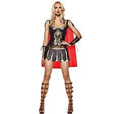 ladies warrior greek roman goddess gladiator princess womens