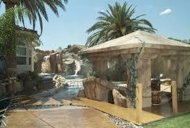 waterfalls palapas concrete countertops by arizona falls las vegas