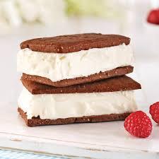glacer cuisine en é sandwichs à la crème glacée maison en é